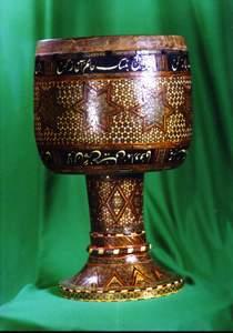Tonbak with Khatam