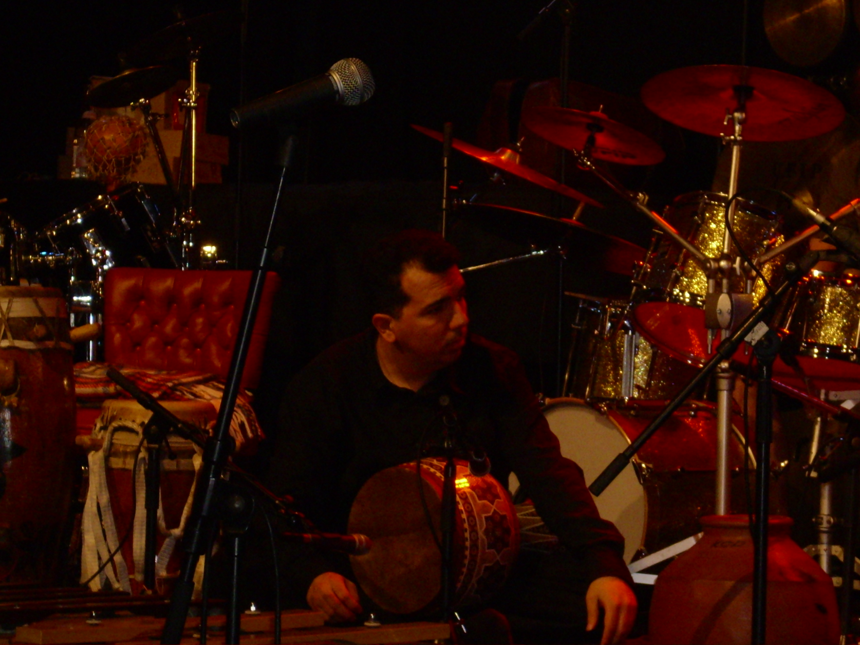 Peyman's concert in Cologne, Germany in 2007 (Family of Percussion Tour)