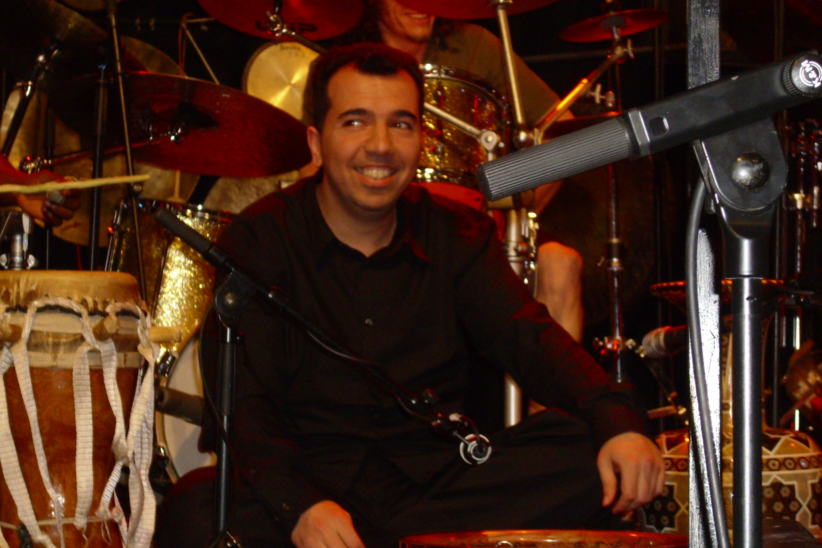 World Family of Percussion Pack Tour Concert in Germany in 2007