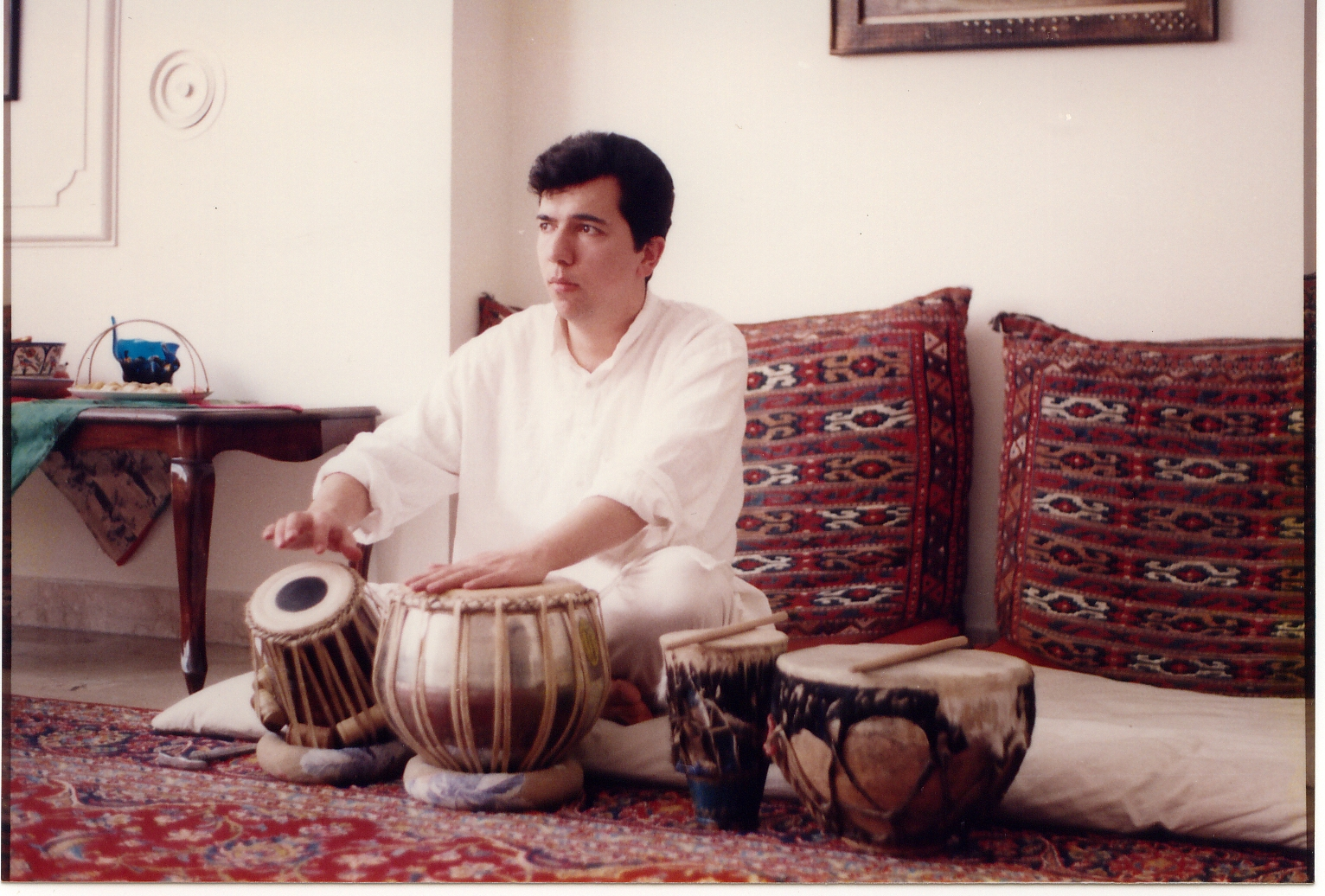 "The other pair of drums is called ""desarkutan"" (Naghara of Mazandaran province)."